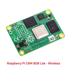 Raspberry Pi CM4 8GB Lite - Wireless - Thumbnail