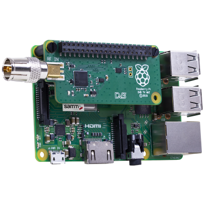 Raspberry Pi DVB TV HAT