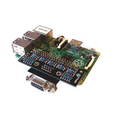 Raspberry Pi وصلة شاشة GPIO إلى VGA موديل Gert VGA 666