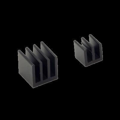 مبرد ألمنيوم قطعتين لراسبيري باي - أسود