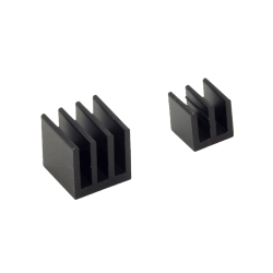 ModMyPi - Raspberry Pi Heat Sinks . Black