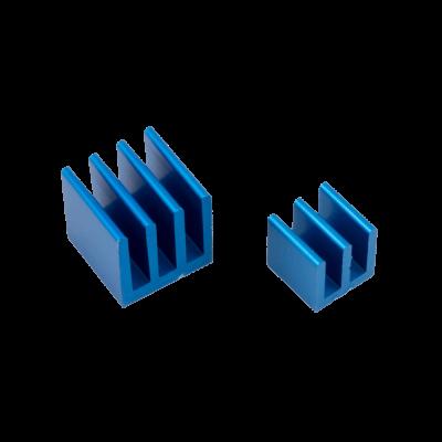 مبرد ألمنيوم قطعتين لراسبيري باي - أزرق
