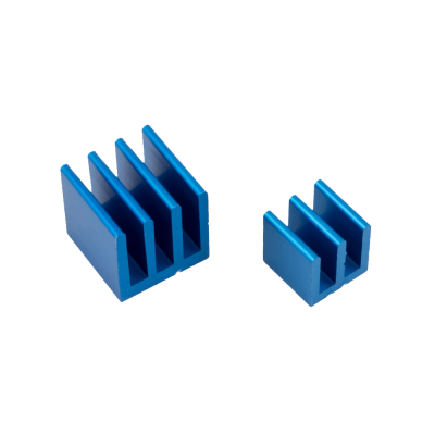 Raspberry Pi Heat Sinks . Blue