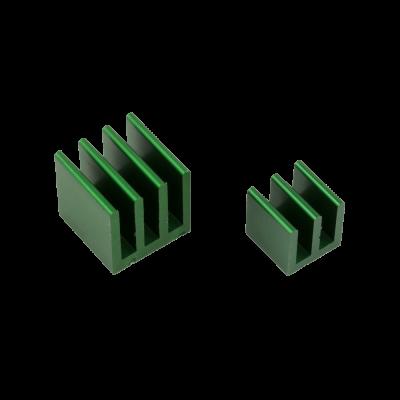 مبرد ألمنيوم قطعتين لراسبيري باي - أخضر