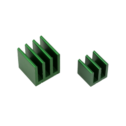 ModMyPi - Raspberry Pi Heat Sinks . Green