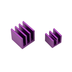 ModMyPi - Raspberry Pi Heat Sinks . Purple