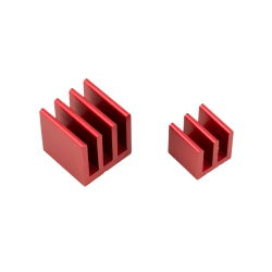 ModMyPi - Raspberry Pi Heat Sinks . Red