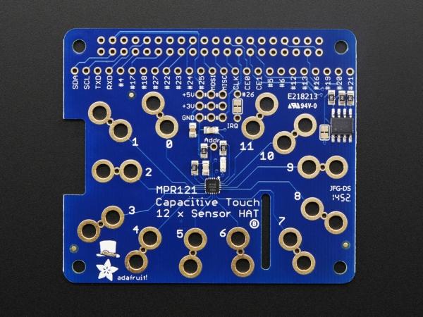 Adafruit - Raspberry Pi için Adafruit Kapasitif Dokunmatik HAT - Mini Kit