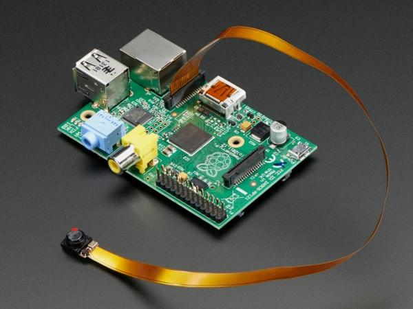 Adafruit - Raspberry Pi için Casus Kamerası