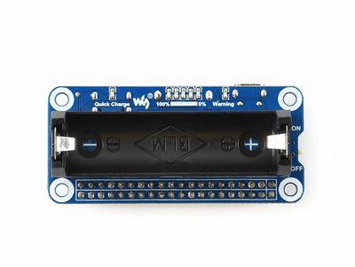 Raspberry Pi Li-ion Pil HAT 5V Çıkış Hızlı Şarj