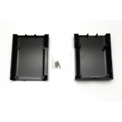 Raspberry Pi Oval Kutu Siyah