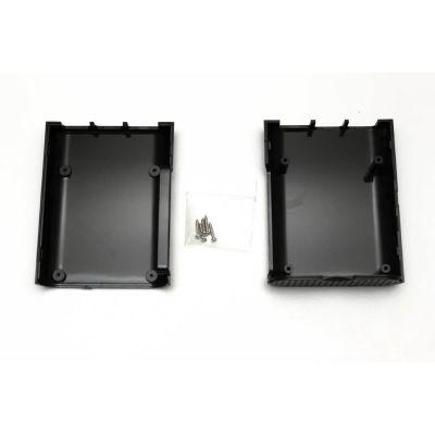 Raspberry Pi Oval Siyah Kutu
