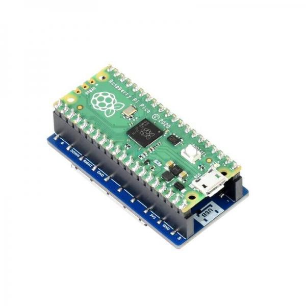 Raspberry Pi Pico 1.3 inch LCD Ekran - 240×240 - SPI - Thumbnail