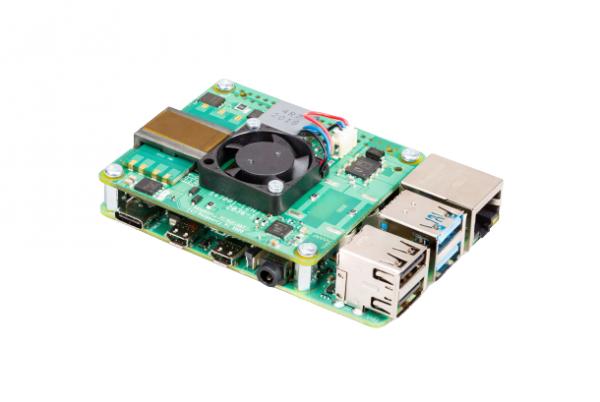 Raspberry Pi - Raspberry Pi PoE + HAT