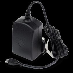 Raspberry Pi - محول كهرباء راسبيري باي الرسمي لون اسود - 5.1V 2.5A