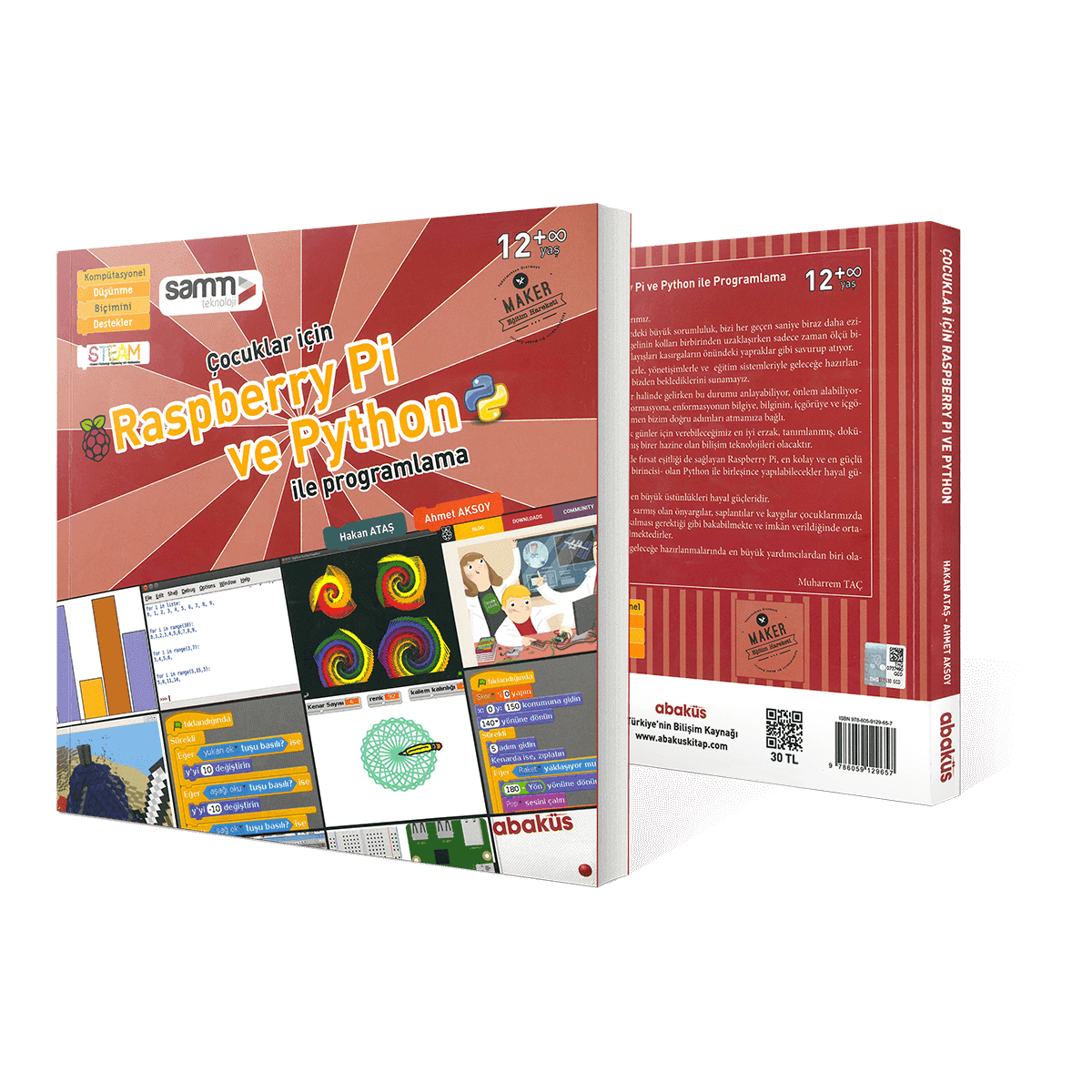 Raspberry Pi and Python Programming for Children - Book | Samm Market