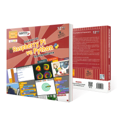 Abaküs Kitap - Raspberry Pi and Python Programming for Children - Book