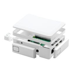 غطاء كرت الذاكرة Micro SD في علبة حماية راسبيري باي - أبيض - Thumbnail