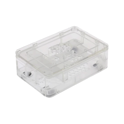 FARNELL - Raspberry Pi Şeffaf kutu 3 Parça