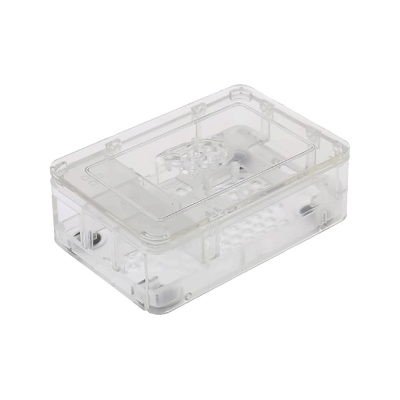Raspberry Pi Şeffaf kutu 3 Parça