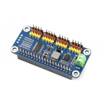 Raspberry Pi Servo Motor Sürücü HAT, 16 Kanal, 12-bit, I2C