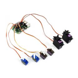 Waveshare - Raspberry Pi Servo Motor Sürücü HAT, 16 Kanal, 12-bit, I2C