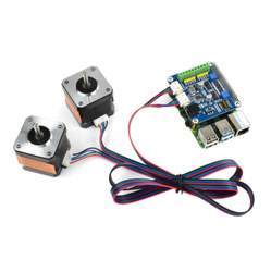 Waveshare - Raspberry Pi Step Motor HAT, 2 Servo