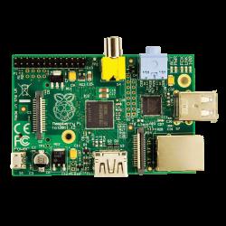 Raspberry Pi - الكمبيوتر المصغر UK Raspberry Pi Type B 512 MB بدون كفر