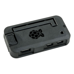 ModMyPi - علبة -كفر- حماية Pi ZERO لون أسود