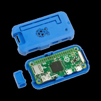 علبة -كفر- حماية Pi ZERO لون أزرق