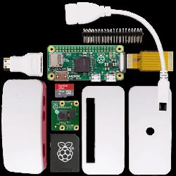 Raspberry Pi - حزمة راسبيري باي زيرو مع الكميرا