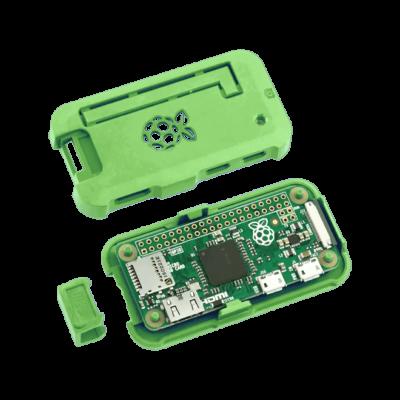 علبة -كفر- حماية Pi ZERO لون أخضر