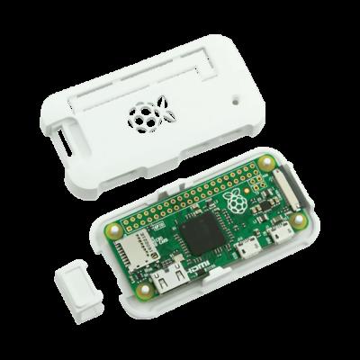 علبة -كفر- حماية Pi ZERO لون أبيض
