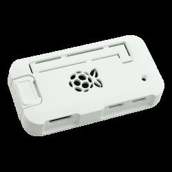 ModMyPi - علبة -كفر- حماية Pi ZERO لون أبيض
