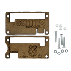 SAMM - Raspberry Pi ZERO Wooden Case
