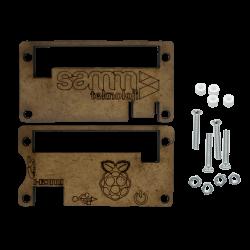 SAMM - علبة حماية راسبيري باي زيرو خشبية