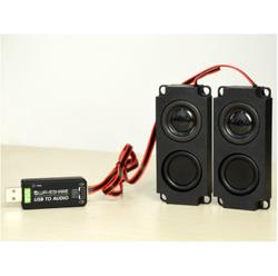 Waveshare - Raspberry Usb to Audio Ses Kartı