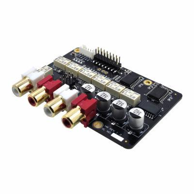 Relay Attenuator 10k Stereo