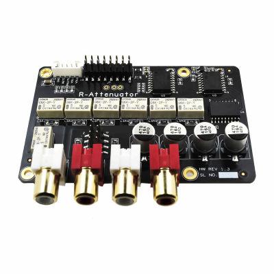 Relay Attenuator 10k Stereo Ses Zayıflatıcı