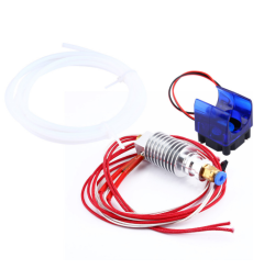 Çin - Reprap J-Head Hotend E3D V5 Bowden Fanlı Kit- 1.75/0.4 mm Nozzle