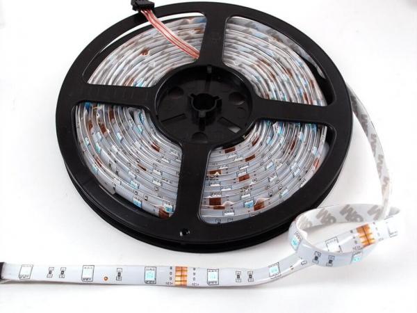 Adafruit - RGB LED Hava Koşullarına Dayanıklı Esnek Şerit 30 LED/m - 1m