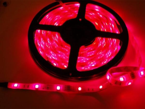 RGB LED Hava Koşullarına Dayanıklı Esnek Şerit 30 LED/m - 1m - Thumbnail