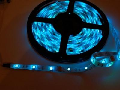 RGB LED Hava Koşullarına Dayanıklı Esnek Şerit 30 LED/m - 1m
