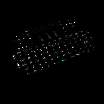 كيبورد لاسلكي مع ماوس باد i8 Plus من Rii