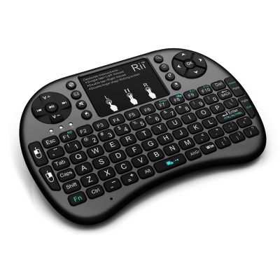 Rii i8+ Mini Wireless Keyboard With Touchpad