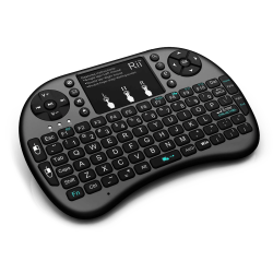 Rii i8+ Mini Wireless Keyboard With Touchpad - Thumbnail