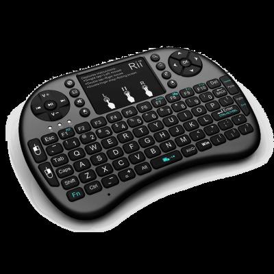 Rii i8+ Mini Wireless Keyboard With Touchpad