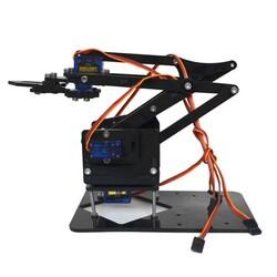 Robot Kol SG90-MG90S Uyumlu Akrilik Kit - Thumbnail