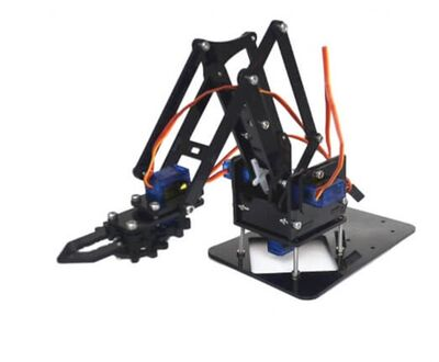 Robot Kol SG90-MG90S Uyumlu Akrilik Kit