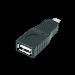S-Link Teknoloji Ürünleri - S-link SL-AF06M Female USB to Micro-USB Adapter